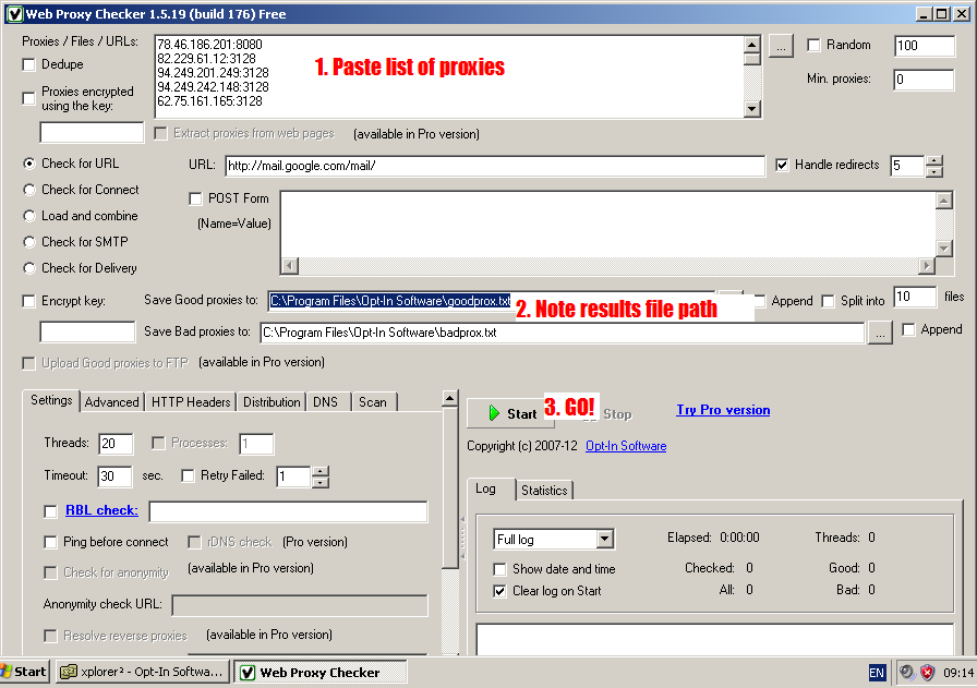 Crack Tracker blog: A working proxy server is hard thing to find